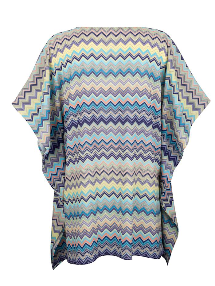 Strandklänning med grafiskt mönster