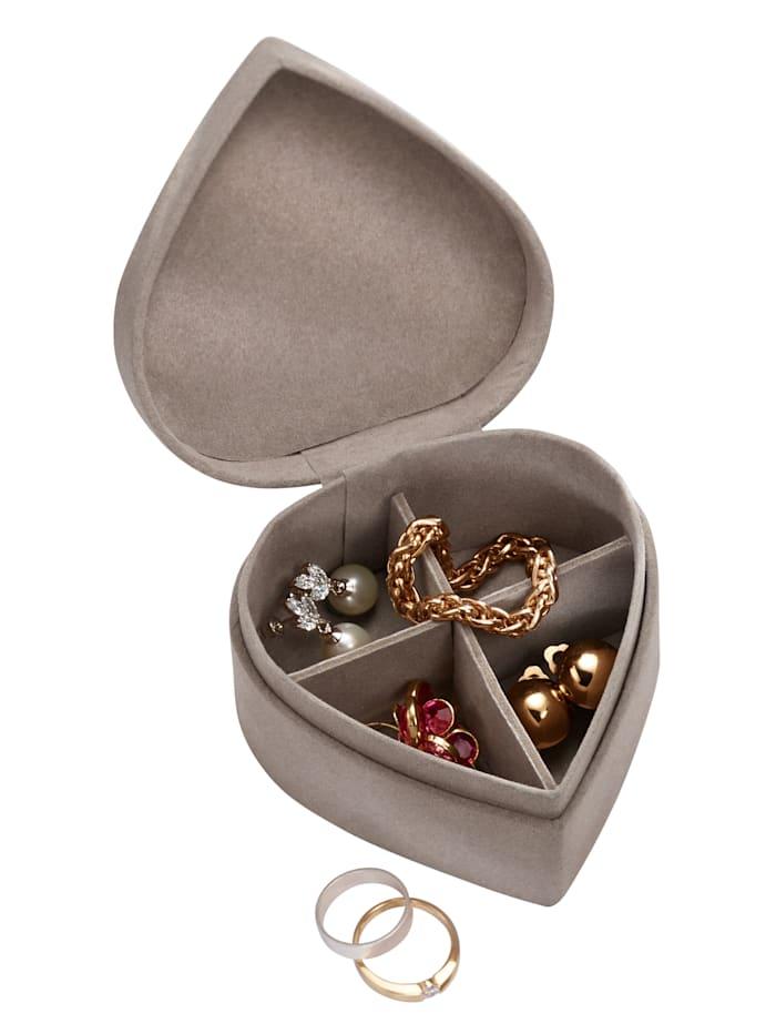 Boîte à bijoux, Taupe