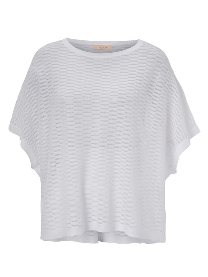 SIENNA Strickshirt, Weiß