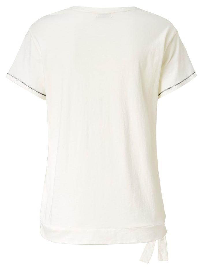 T-Shirt Mit folkloristischem Frontprint