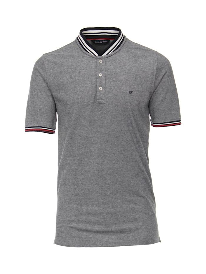 CASAMODA T-Shirt uni, Graues Dunkelblau