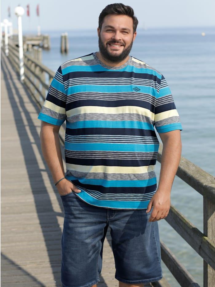 T-Shirt mit Streifendesign