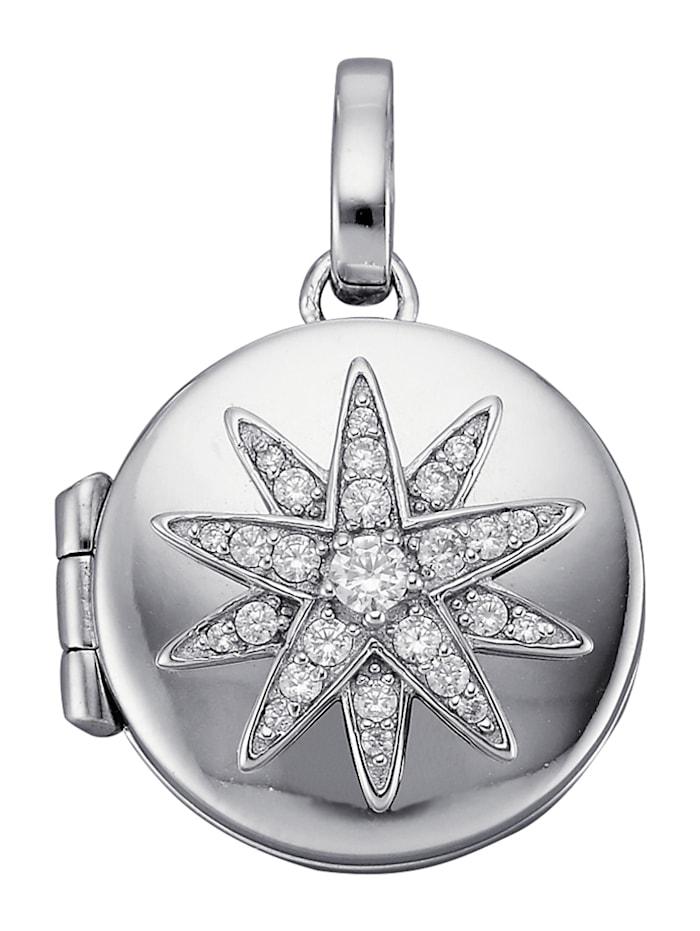 """Atelier Imperial Sisi Hopeinen medaljonki """"Kuningatar Sissin tähti"""", Hopeanvärinen"""