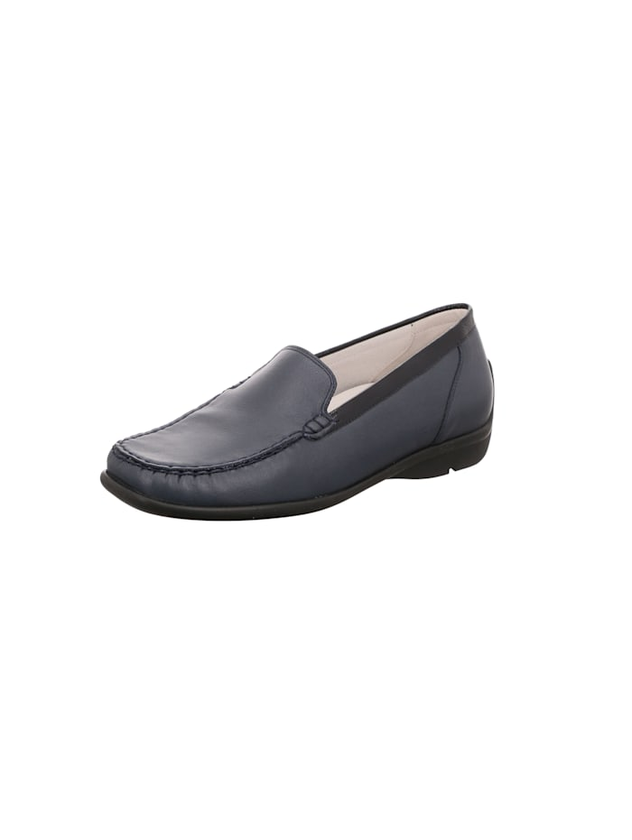Waldläufer Slipper, blau