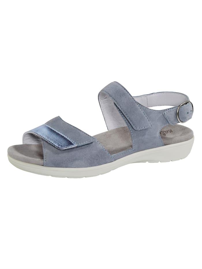 Naturläufer Sandale mit Luftpolsterlaufsohle, Hellblau