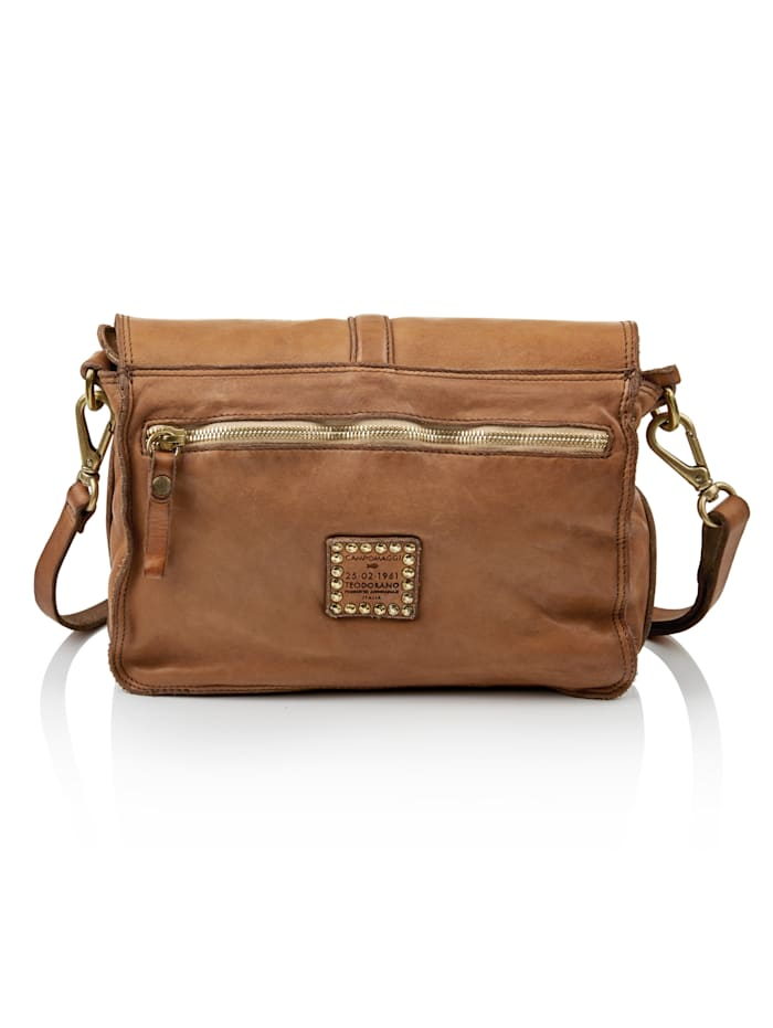 Crossbody-Bag aus Leder