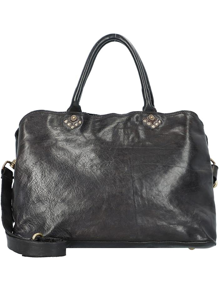 Campomaggi Handtasche Leder 35 cm, nero