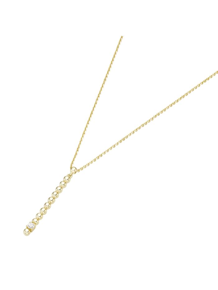 Luigi Merano Collier mit Brillant, Gold 585, Gold