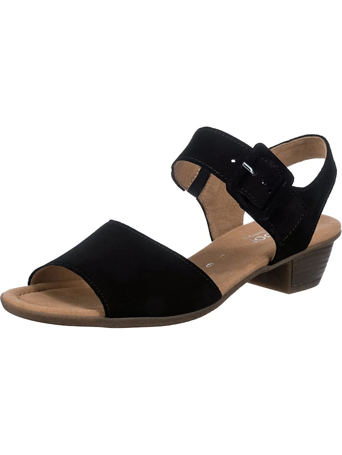 Gabor Klassische Sandaletten, schwarz