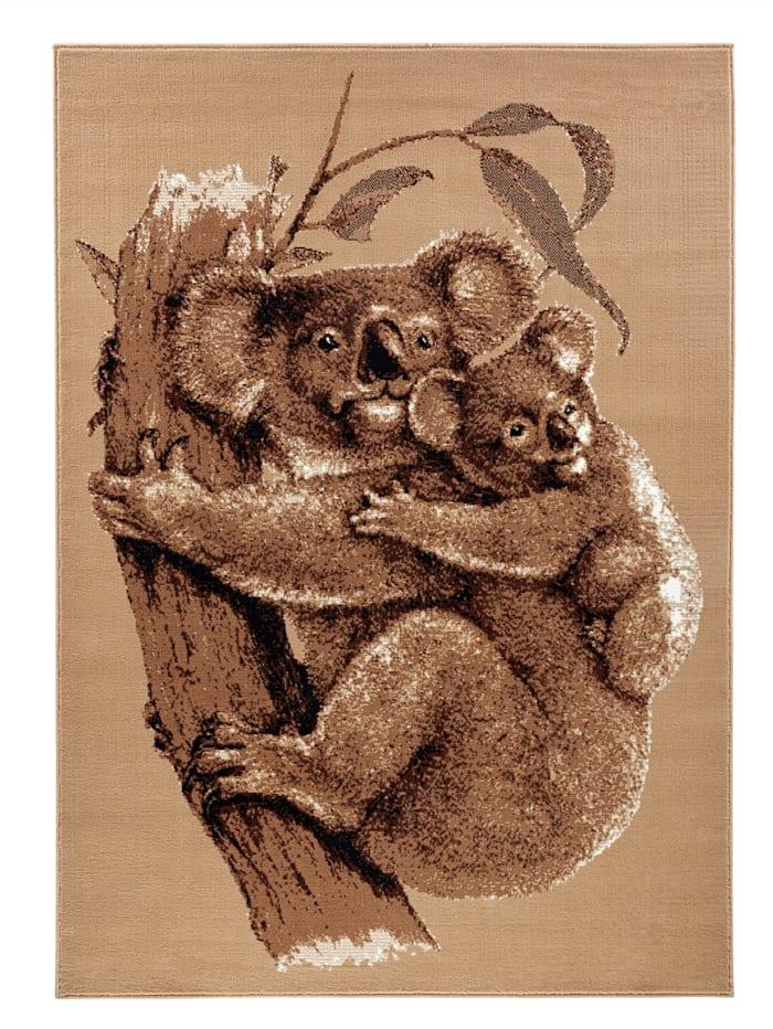 Webschatz Webteppich 'Koala', Beige