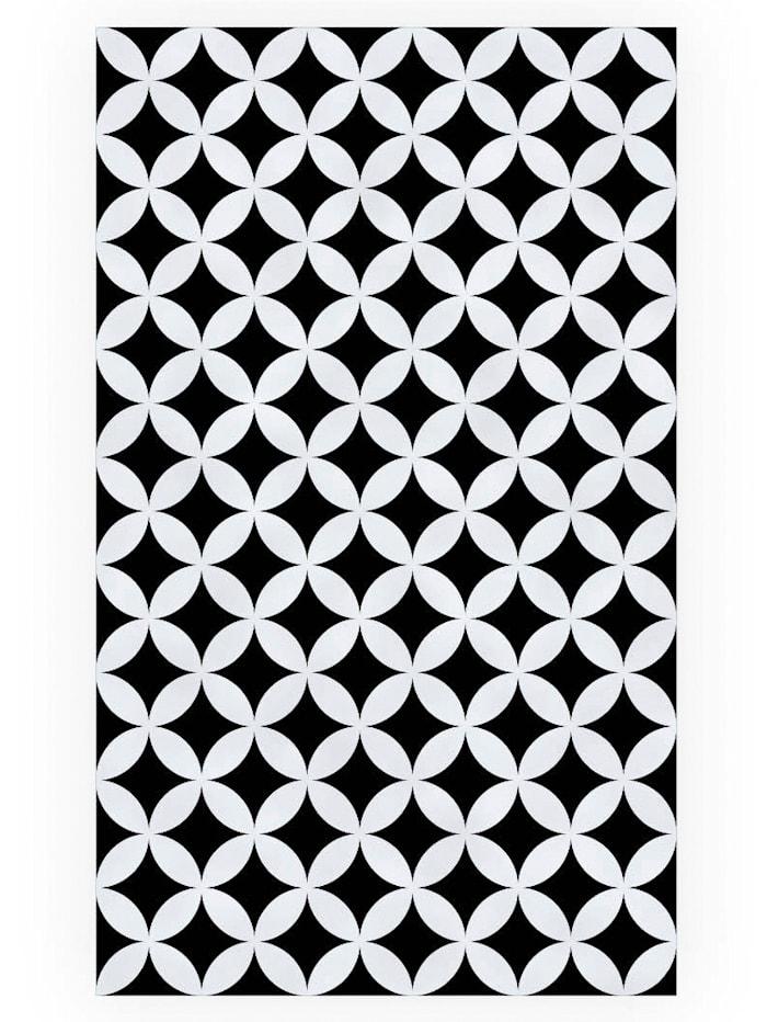 mySPOTTI (Dusch-) Sichtschutz-Folie, schwarz/weiß