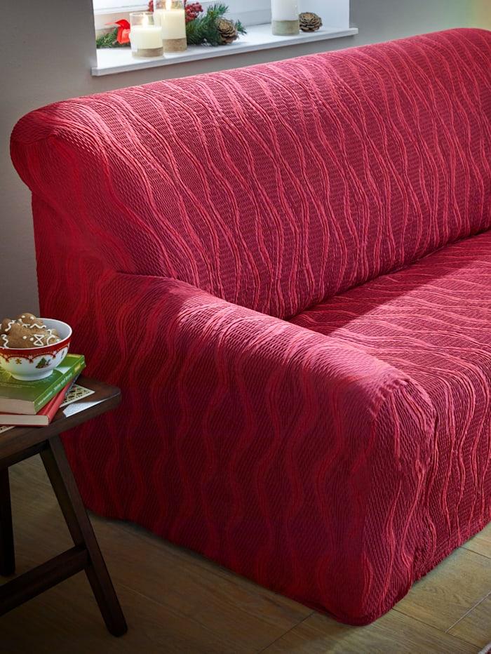 Webschatz Série de housses stretch, Rouge
