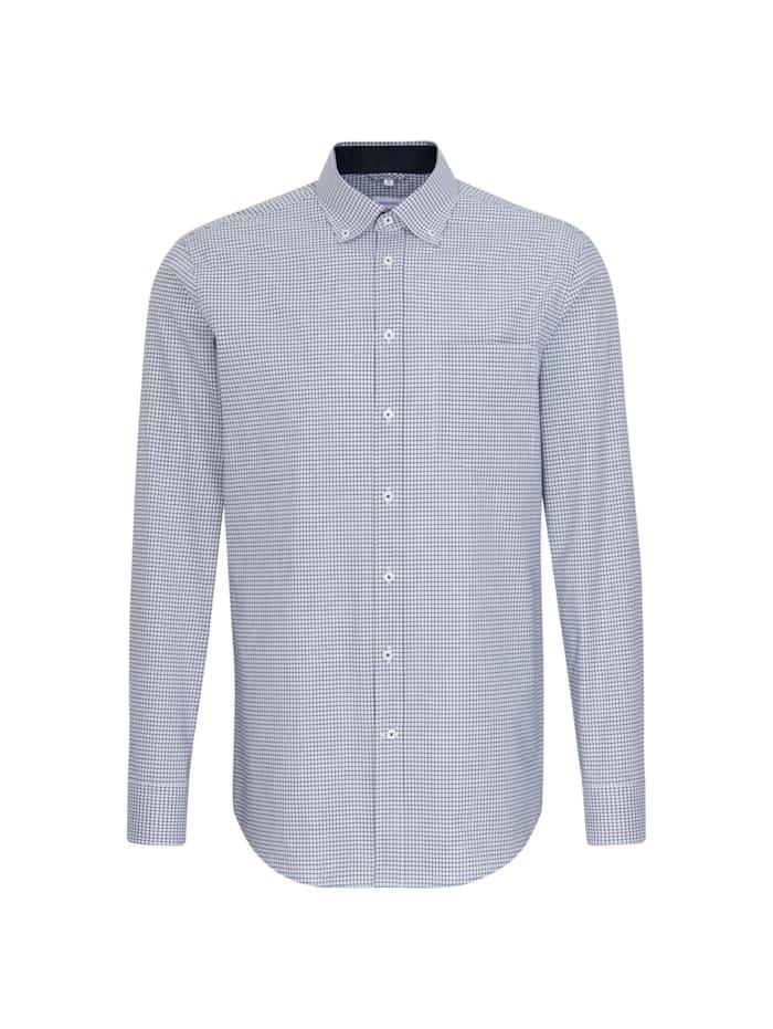 Seidensticker Business Hemd ' Regular ', blau (0019)