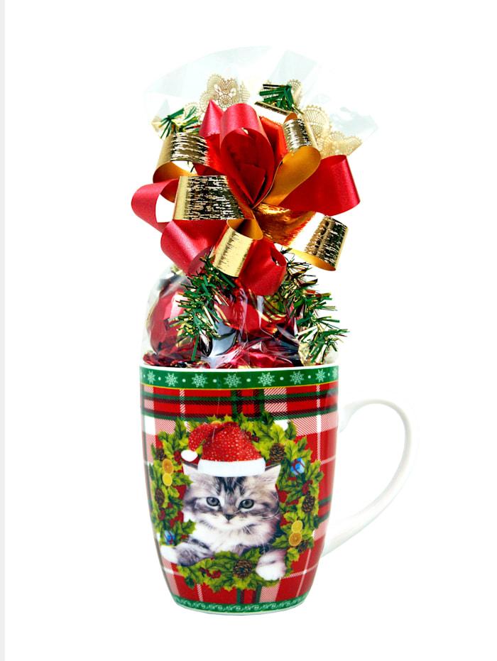 Gefüllte Weihnachts-Tassen im 2er Set