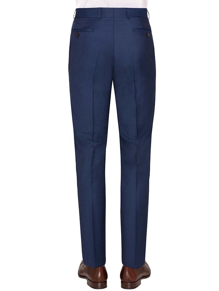 Moderne melierte Anzug Hose aus Schurwolle