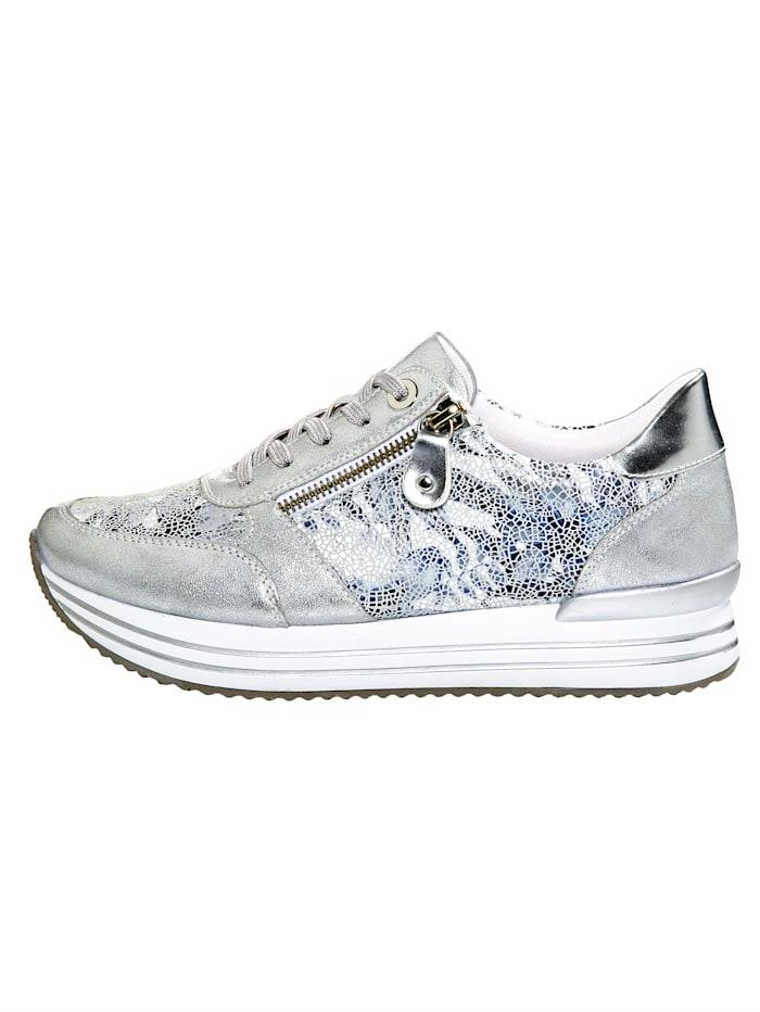 Sneakers à glissière fantaisie