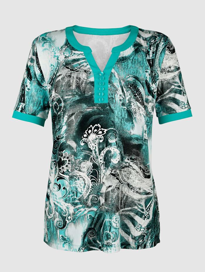 Shirt mit Druckmuster