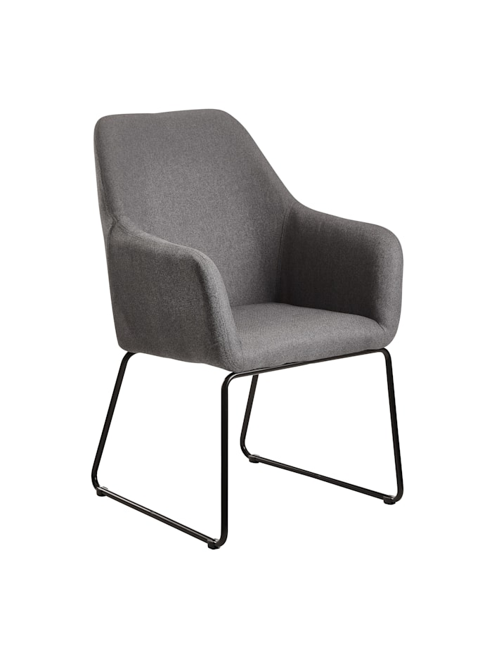 Esszimmerstuhl Samt Küchenstuhl mit goldenen Beinen Schalenstuhl Stoff Metall Polsterstuhl