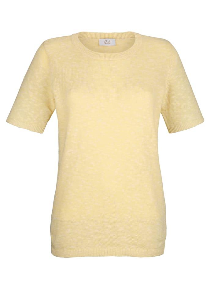Pullover mit Melangeeffekt