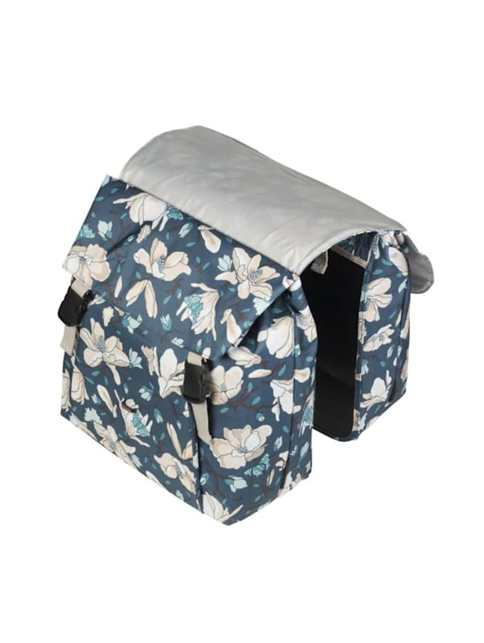 "Basil Doppelpacktasche ""Magnolia Double Bag"" blau, teal blue"