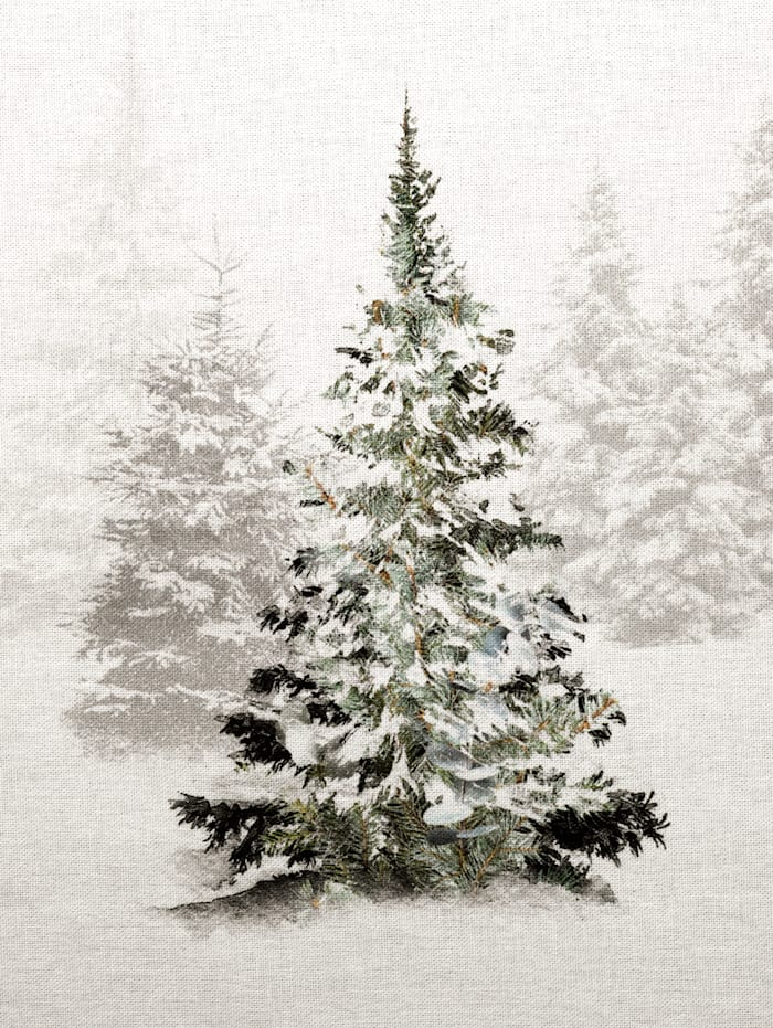 "Chemin de table ""Sapins de Noël"""