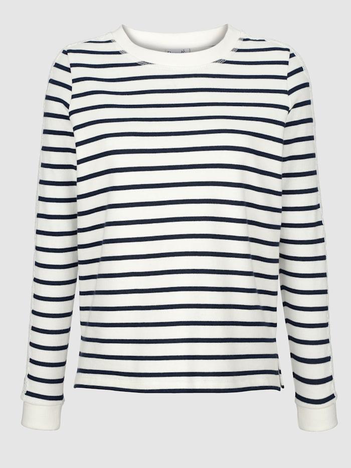 Sweatshirt met kanten details