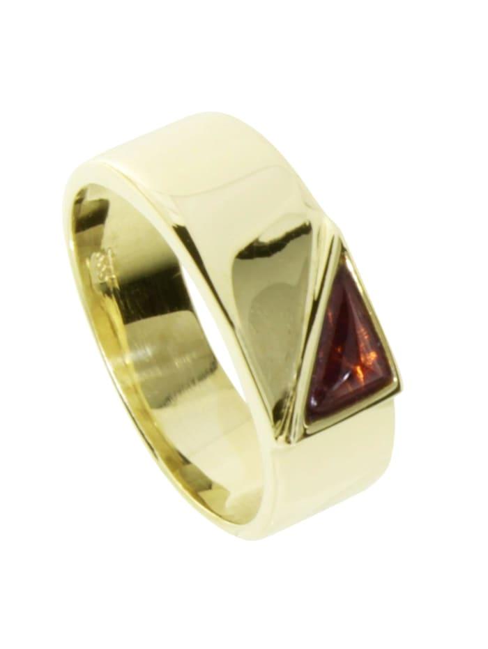 OSTSEE-SCHMUCK Ring - Karla - Gold 333/000 - Bernstein, gold