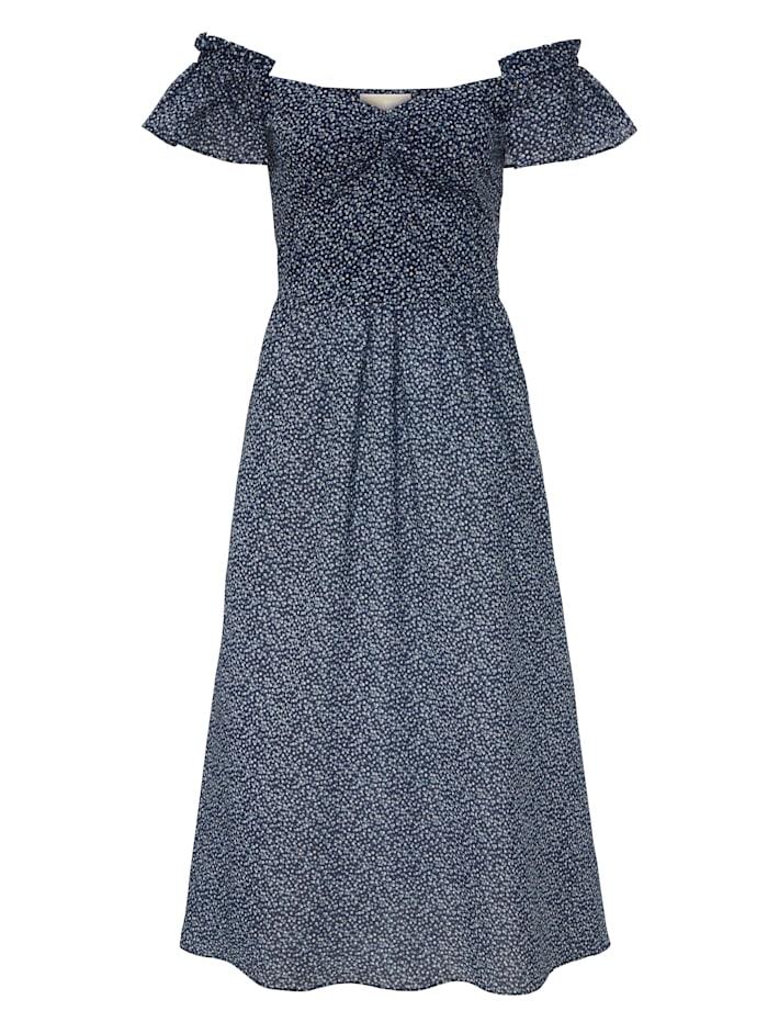 MICHAEL Michael Kors Kleid geblümt, Blau