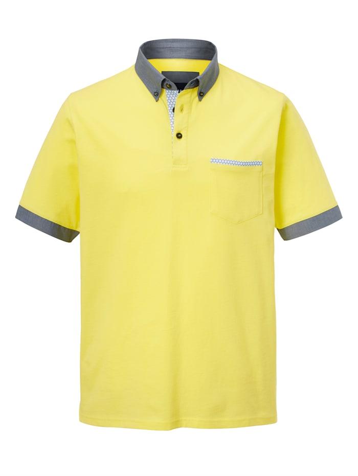 Poloshirt mit Kontrastdetails