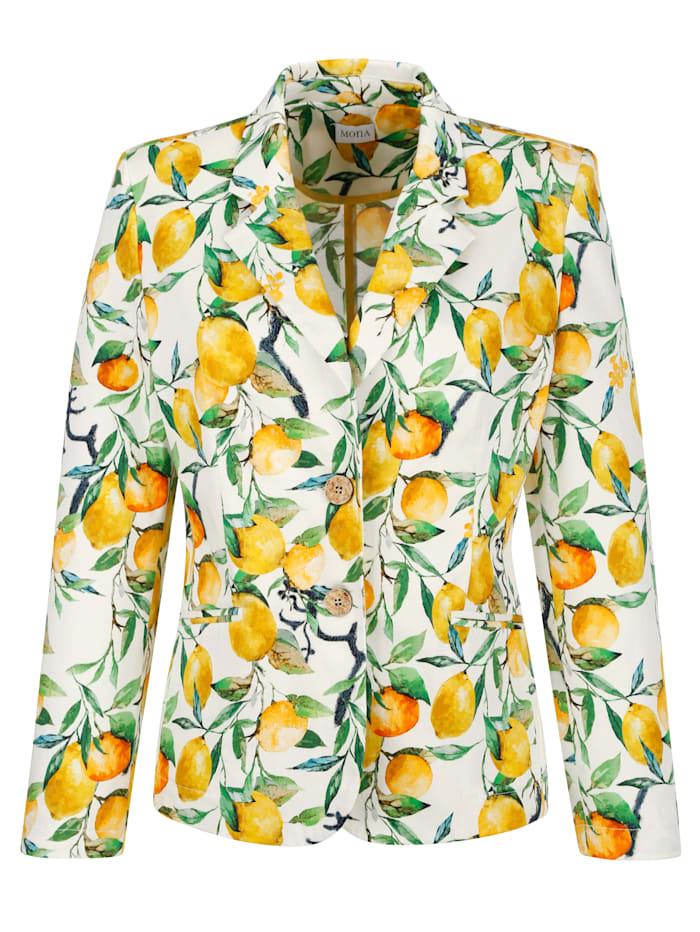 Veste à imprimé citron moderne