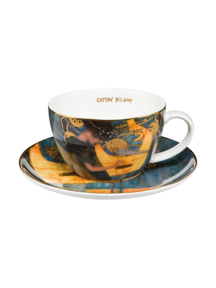 """Goebel Goebel Tee-/ Cappuccinotasse Gustav Klimt - """"Die Musik"""", Klimt - Musik"""