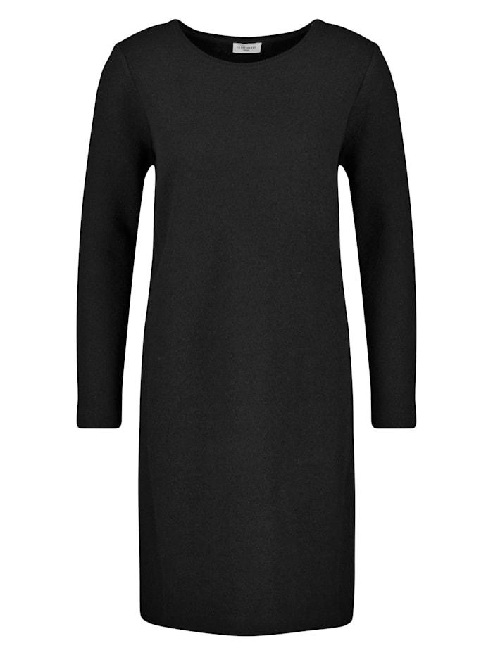 Gerry Weber Kleid aus gekochter Wolle, Schwarz