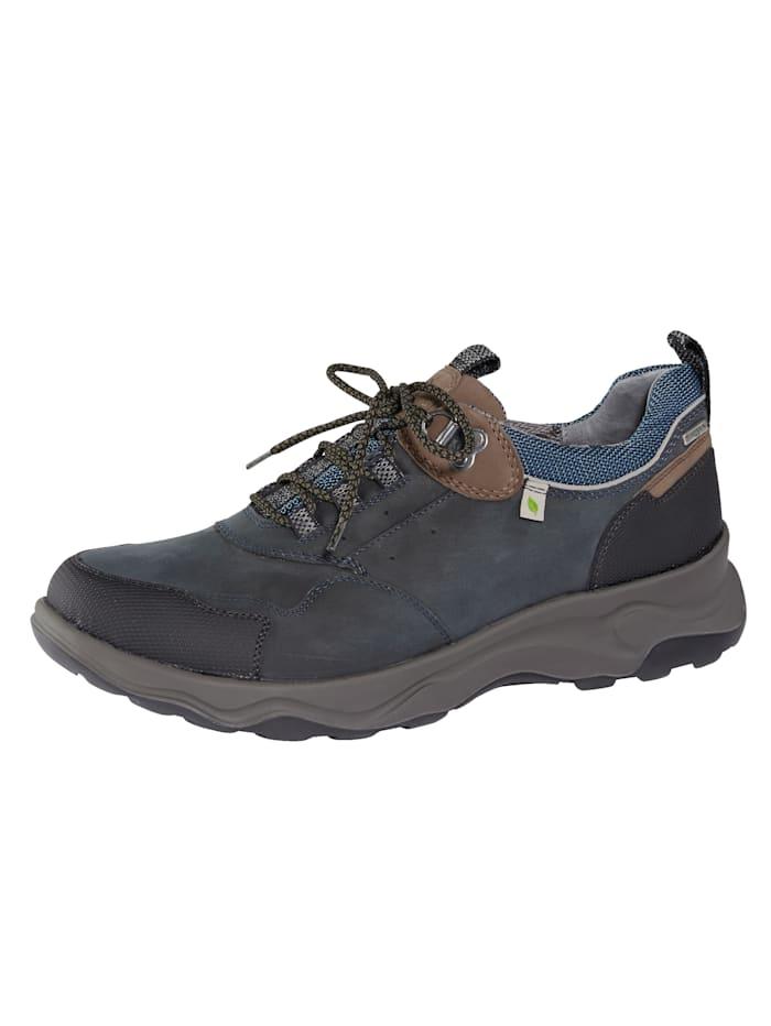 Waldläufer Chaussures de trekking à membrane climatisante, Marine