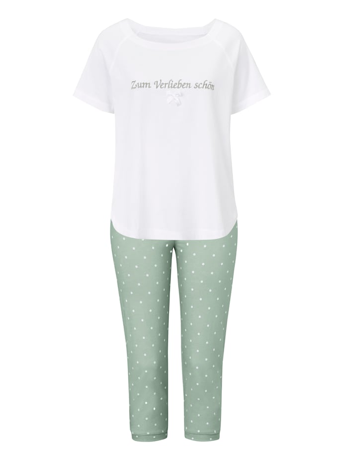 Louis & Louisa Pyjama, Mintgrün