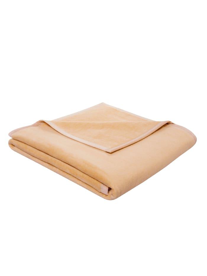 biederlack Wohndecke 'Pure Cotton', Beige