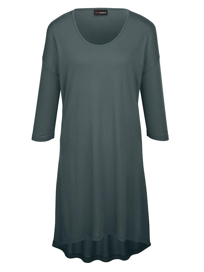 Jerseykleid mit überschnittenen Ärmeln