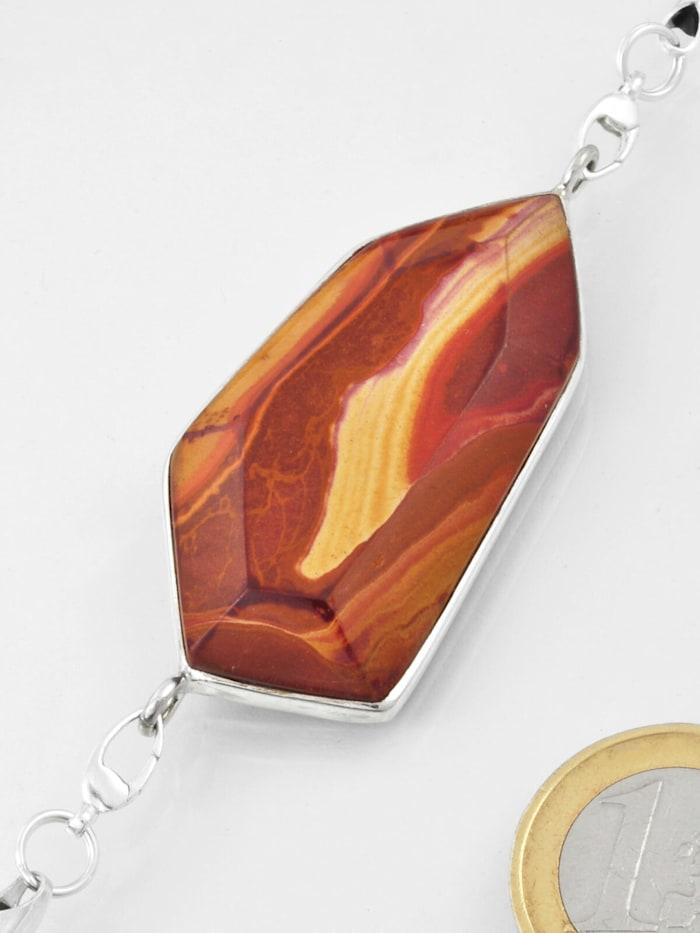 1001 Diamonds Damen Schmuck Edelstein Wonderstone Anhänger 925 Silber bunt, bunt