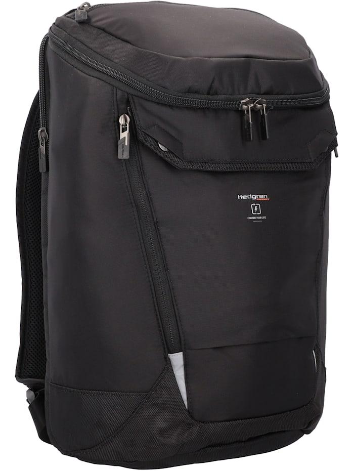 Hedgren Bond Rucksack RFID 45 cm Laptopfach, black