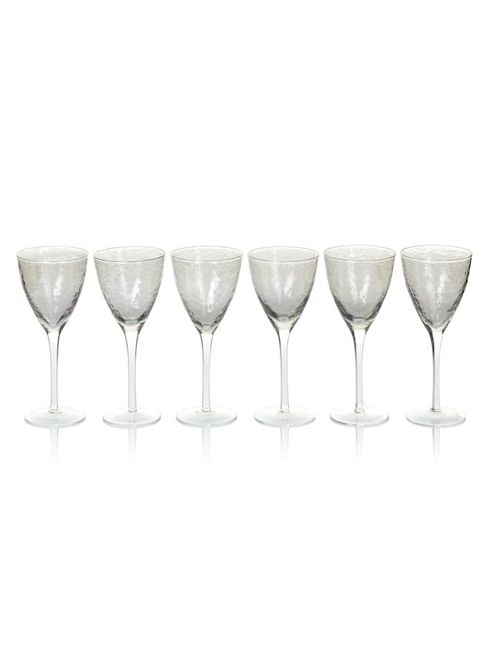 IMPRESSIONEN living Weißweinglas-Set, 6-ltg., taupe