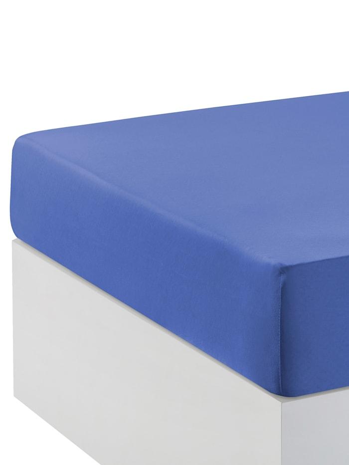 Webschatz Hoeslaken voor boxspring, azuurblauw