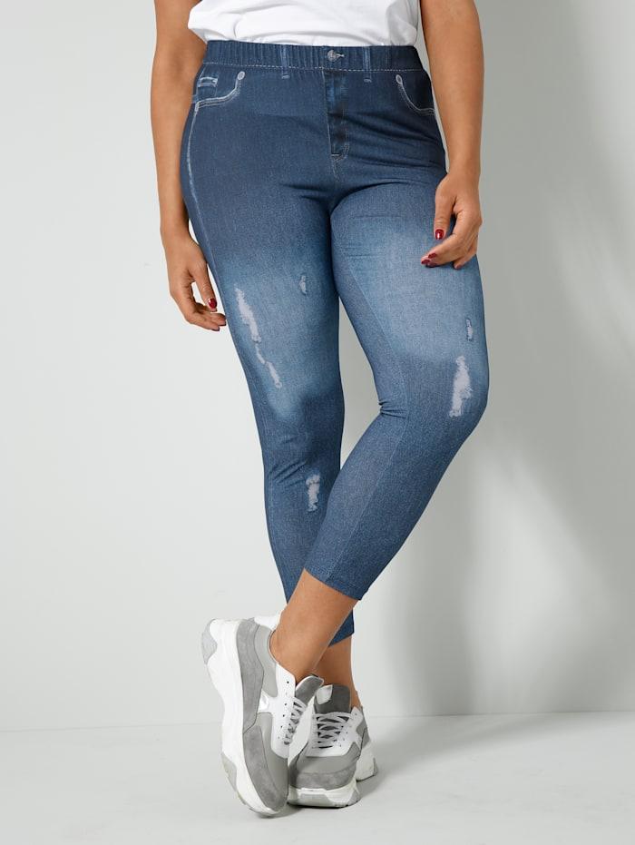 Angel of Style Leggings in Jeans-Optik, Blau