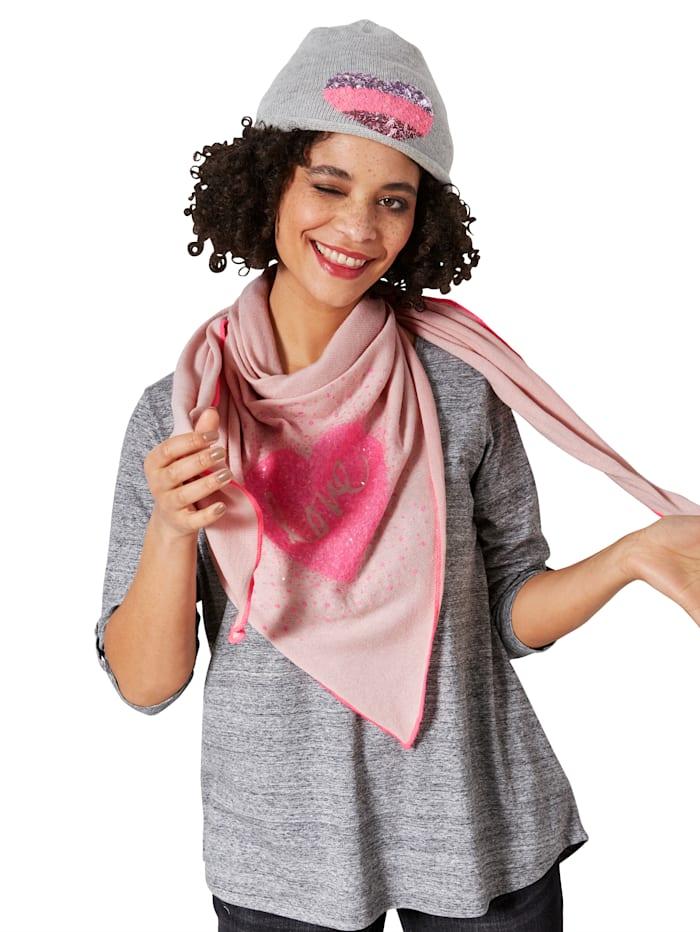 Sjaaltje met trendy print