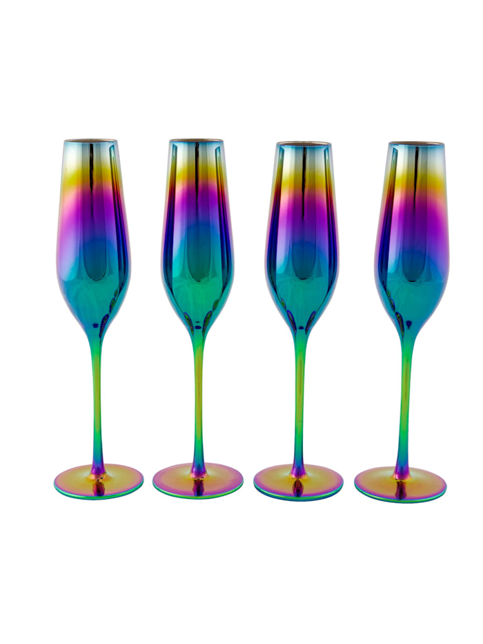 IMPRESSIONEN living Glas-Set, 4-tlg., multicolor