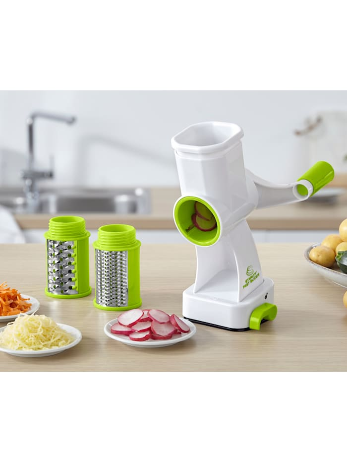 Industex Multi-râpe 'Starlyf®Fast Slicer', Blanc/vert