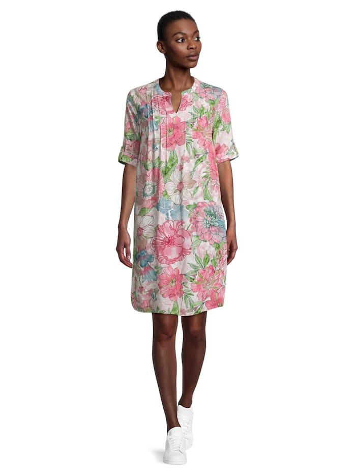 Betty Barclay Sommerkleid mit Biesen, Weiß