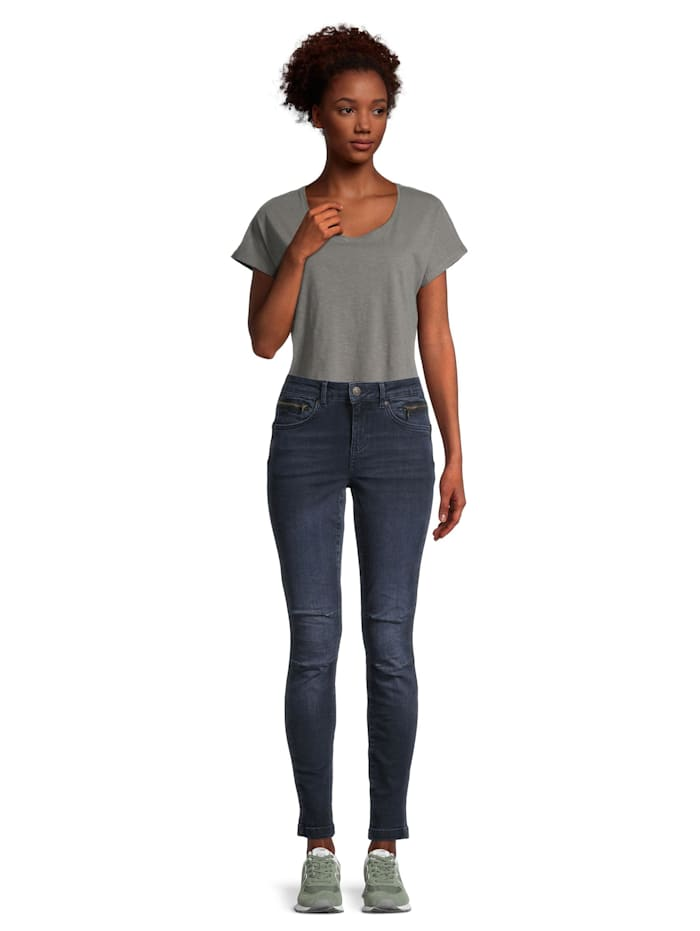 Casual-Hose Slim Fit Blue denim