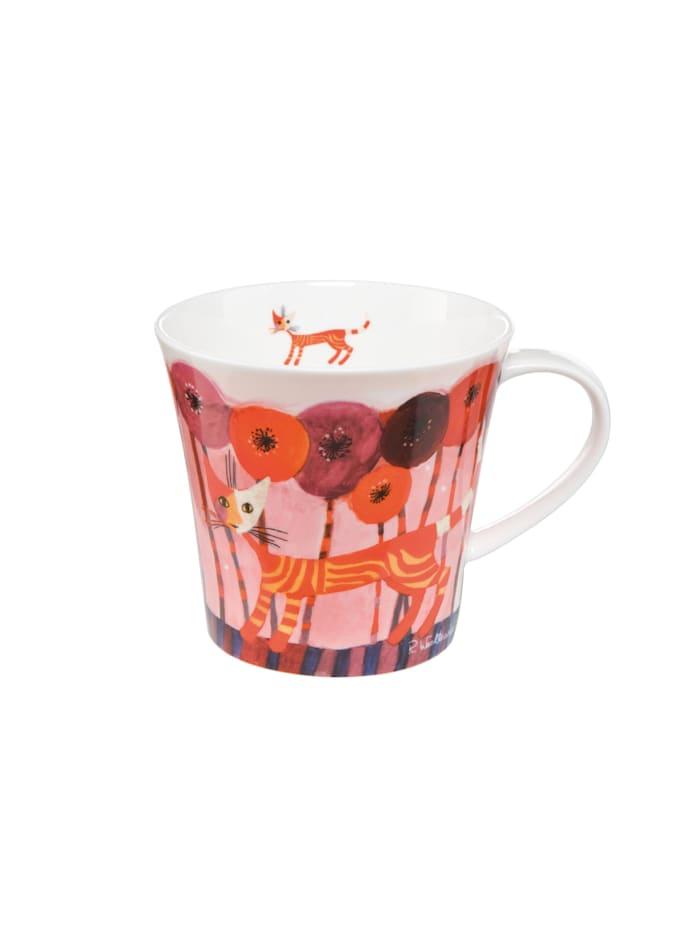 Goebel Goebel Coffee-/Tea Mug Rosina Wachtmeister - Fiori rossi, Wachtmeister - Fiori rossi