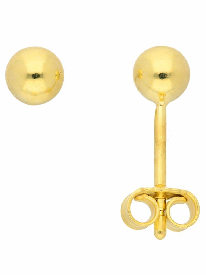 1001 Diamonds 1001 Diamonds Damen Goldschmuck 333 Gold Ohrringe / Ohrstecker Ø 4 mm, gold