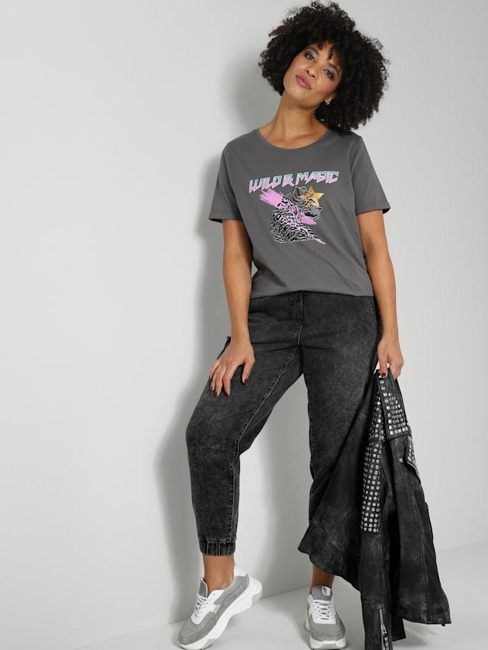 Angel of Style Jogpants mit Tunnelzug, Anthrazit