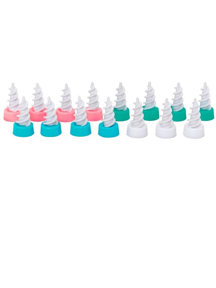 MediaShop 16-delige set reserve-opzetstukken Ear Wizard, multicolor